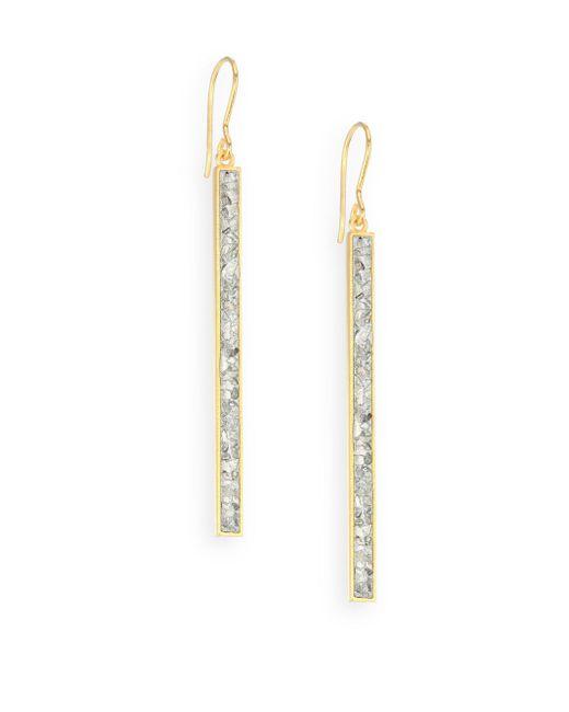 Shana Gulati - Metallic Jemma Miladi Sliced Raw Diamond Drop Earrings - Lyst