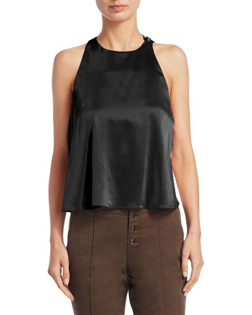 A.L.C. | Multicolor Open Back Sleeveless Top | Lyst