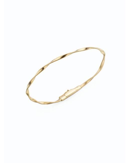 Marco Bicego - Metallic Marrakech 18k Gold Twisted Strand Bracelet - Lyst