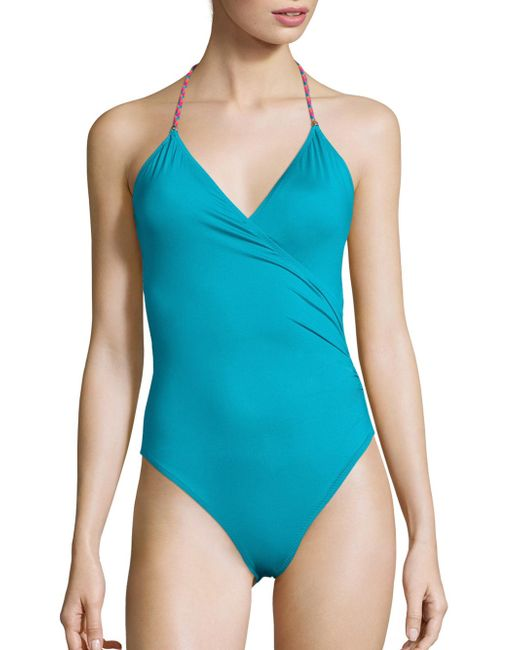 Lazul | Blue Marylin One-piece Swimsuit | Lyst