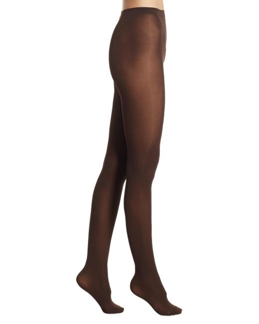 Falke - Brown Pure Matte 50 Opaque Tights - Lyst