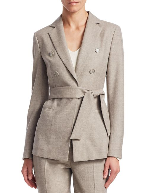 Akris - Multicolor Sibylle Self-tie Jacket - Lyst