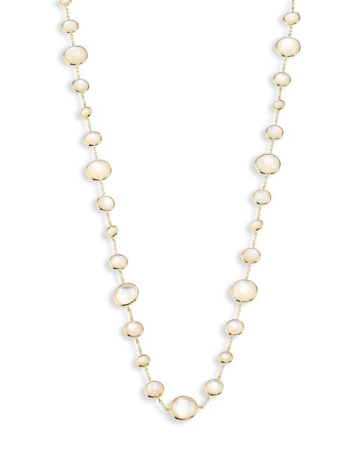 Ippolita - Metallic Rock Candy? Lollipop? Clear Quartz & 18k Yellow Gold Long Necklace - Lyst