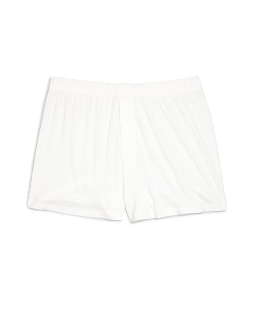 Hanro - White Sea Island Cotton Sea Island Cotton Boxers for Men - Lyst