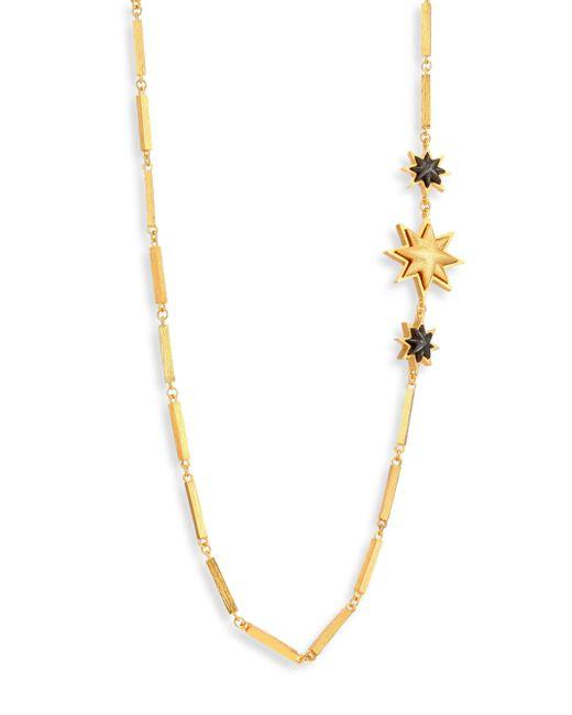 Stephanie Kantis | Metallic Relic Sunburst Column-link Necklace | Lyst