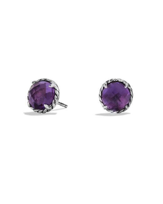 David Yurman - Purple Châtelaine Earrings With Amethyst - Lyst