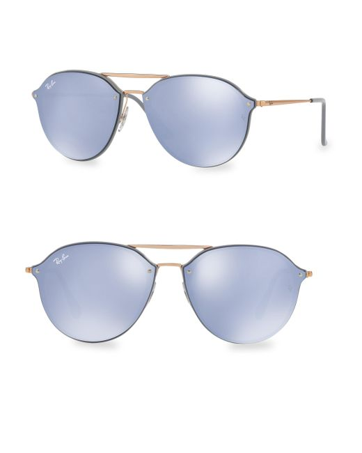 Ray-Ban - Blue Iconic Aviator Sunglasses - Lyst