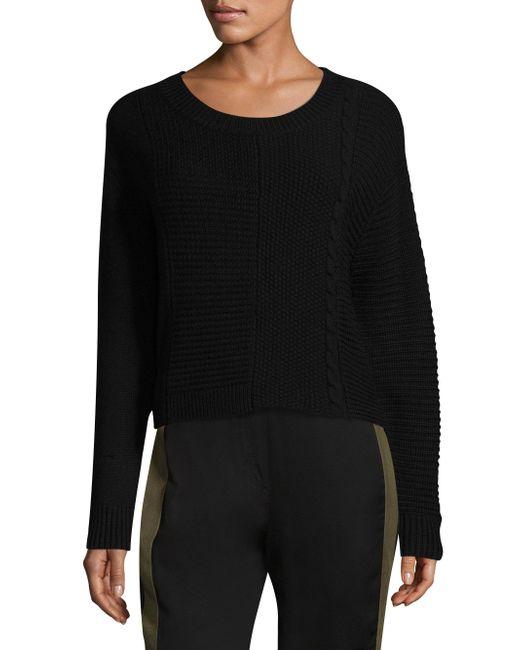 Public School - Black Walter Knit Sweater - Lyst