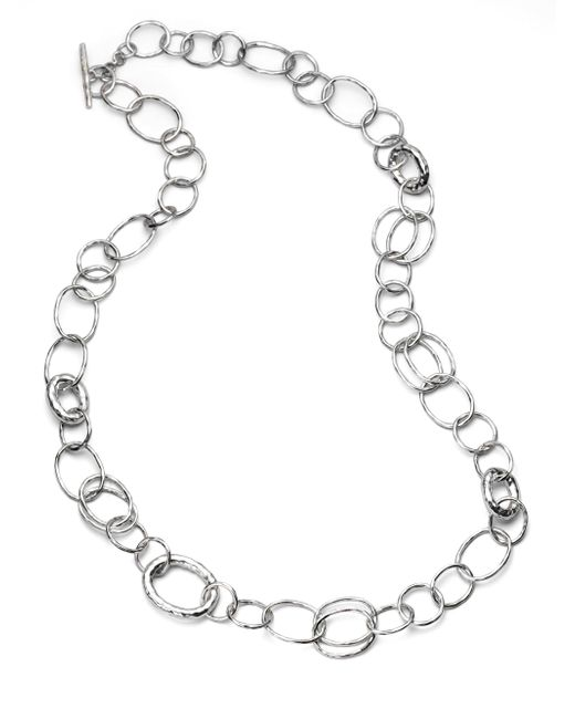 Ippolita | Metallic Glamazon Sterling Silver Bastille Element Link Chain Necklace | Lyst