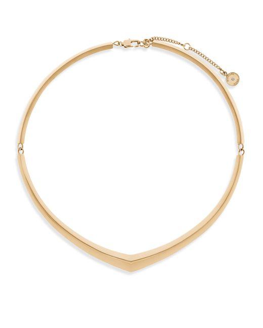 Michael Kors - Metallic Knife Edge Collar Necklace - Lyst