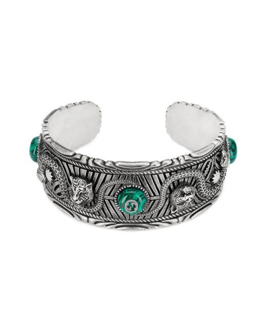 Gucci - Metallic Garden Bracelet In Silver - Lyst