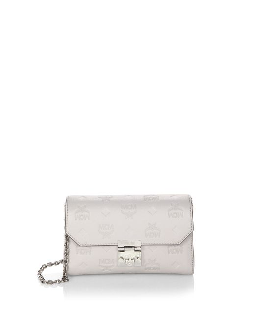MCM | Multicolor Millie Leather Clutch | Lyst