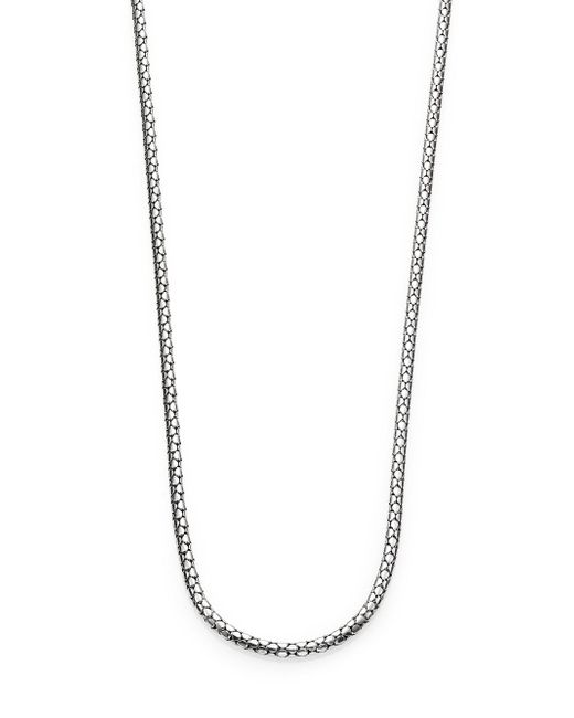John Hardy - Metallic Dot Sterling Silver Small Chain Necklace/36 - Lyst