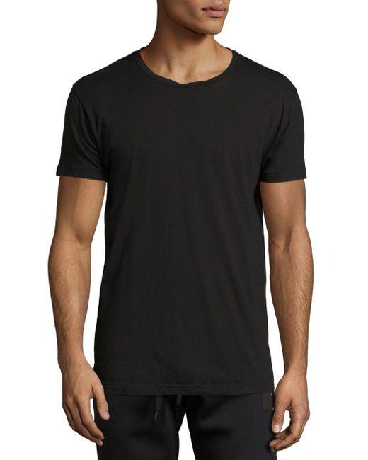 Tomas Maier | Black Regular Short Sleeve Jersey Tee for Men | Lyst