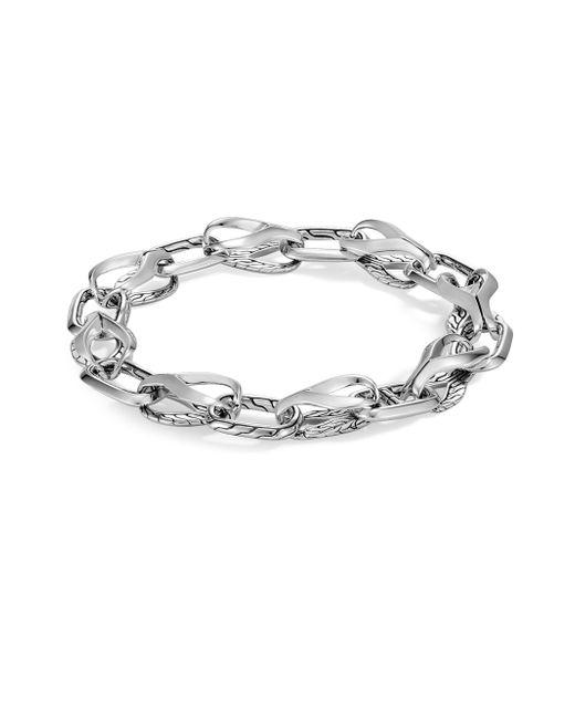 John Hardy - Gray Classic Silver Chain Bracelet for Men - Lyst