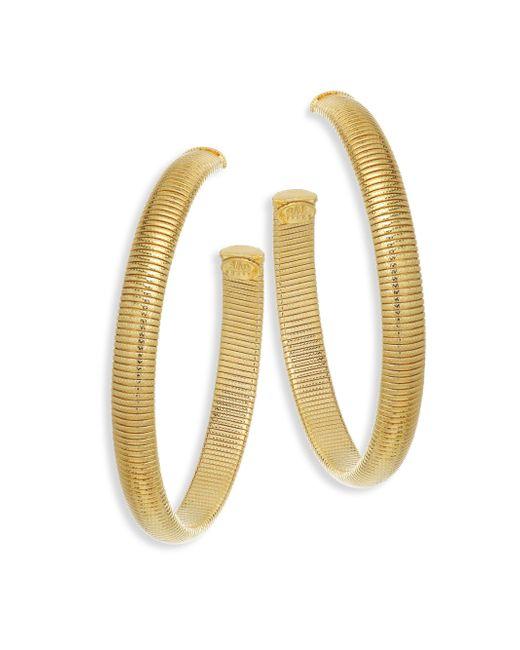 Gas Bijoux - Metallic Milo Hoop Earrings - Lyst