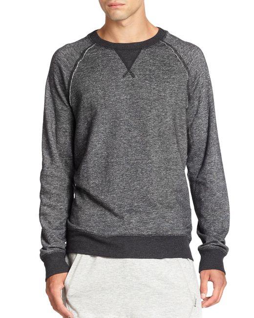 2xist | Black Terry Pullover Sweatshirt for Men | Lyst