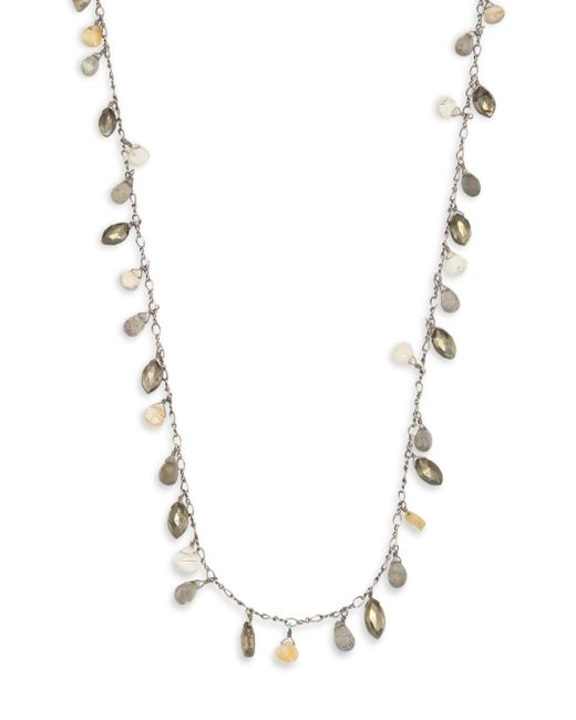 Chan Luu - Multicolor Pyrite Mix Short Necklace - Lyst