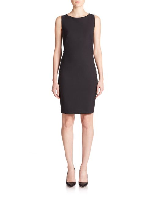 Theory - Black Betty Edition Stretch Wool Sleeveless Dress - Lyst