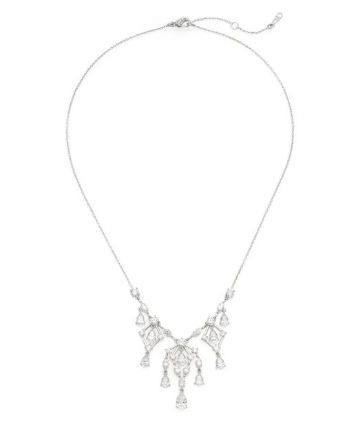 Adriana Orsini | Metallic Shimmer Chandelier Necklace | Lyst