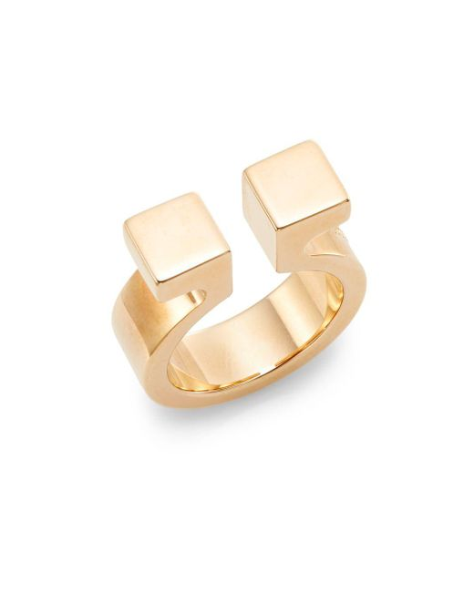 Vita Fede | Metallic Omega Ring/rose Goldtone | Lyst