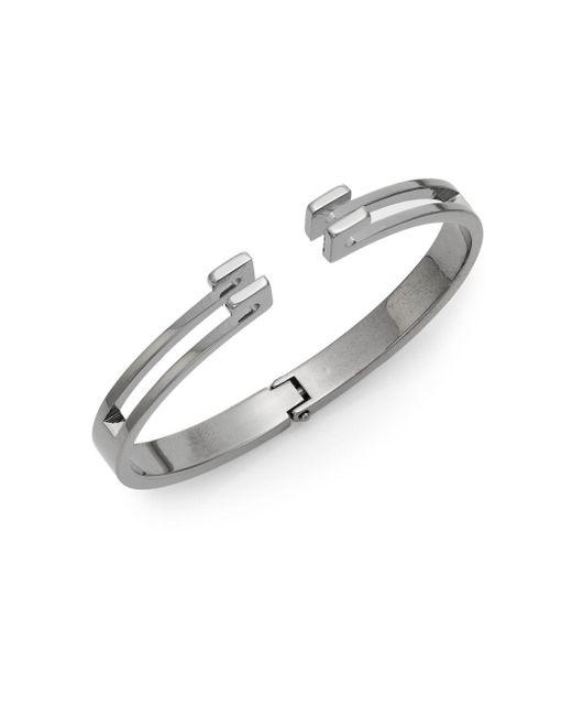 Vita Fede | Metallic Mini Omega Cuff Bracelet/gunmetal-tone | Lyst