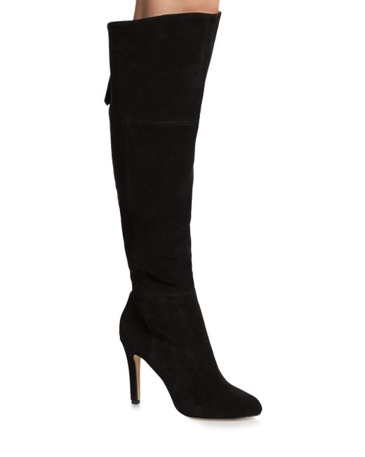 Dolce Vita | Black Kavan Suede Knee-high Boots | Lyst