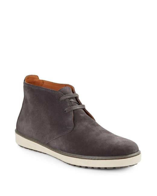 Vince | Gray Blake Suede Chukka Boots for Men | Lyst