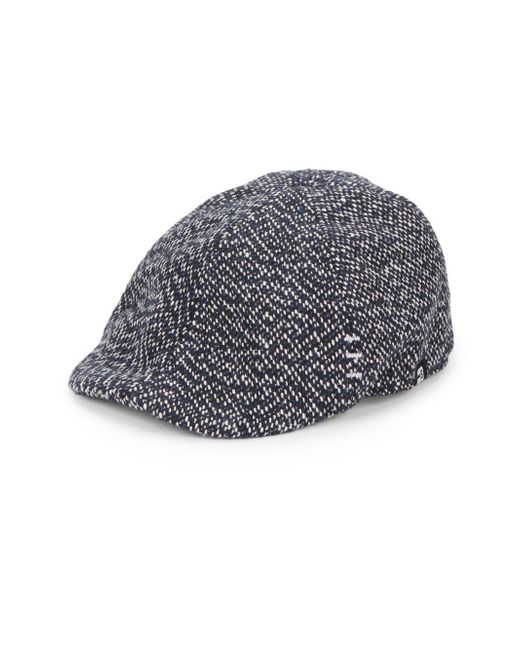 Block Headwear | Blue Tweed Driving Cap for Men | Lyst