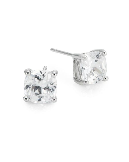 Saks Fifth Avenue | Metallic Prong-set Stud Earrings | Lyst