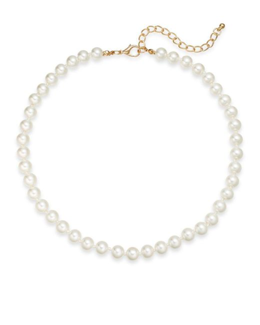 Saks Fifth Avenue | Natural 8mm Simulated Pearl Necklace/16"