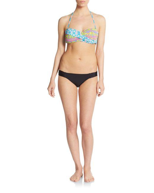 Trina Turk | Pink Venice Twist-front Bikini Top | Lyst