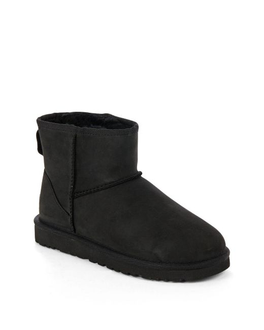 Ugg 174 Classic Mini Water Resistant Leather Ankle Booties