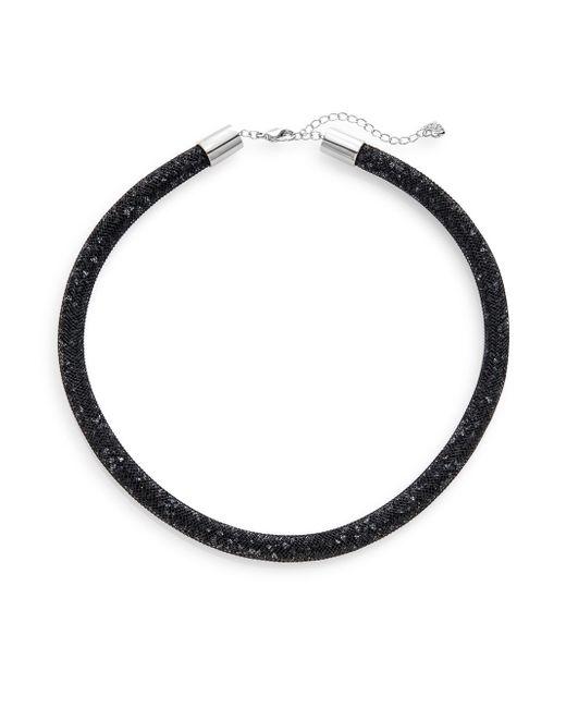 Swarovski   Black Stardust Gradient Necklace   Lyst