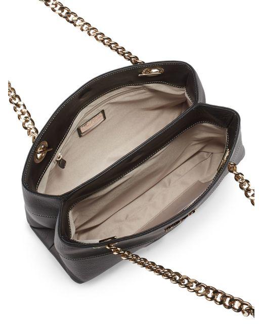 valentino by mario valentino karina leather shoulder bag. Black Bedroom Furniture Sets. Home Design Ideas