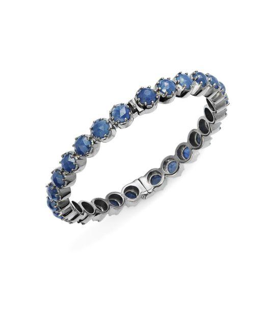 Bavna | Metallic Sapphire & Sterling Silver Bracelet | Lyst