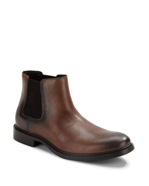 Kenneth Cole | Brown Grand Scale Slip-on Boots for Men | Lyst