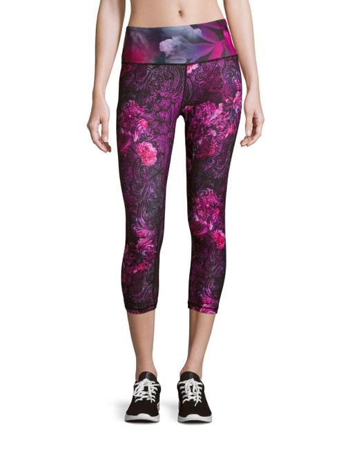Nanette Lepore | Purple Baroque Printed Pull-on Pants | Lyst