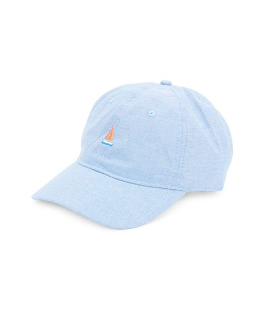 Block Headwear | Blue Embroidered Cap | Lyst