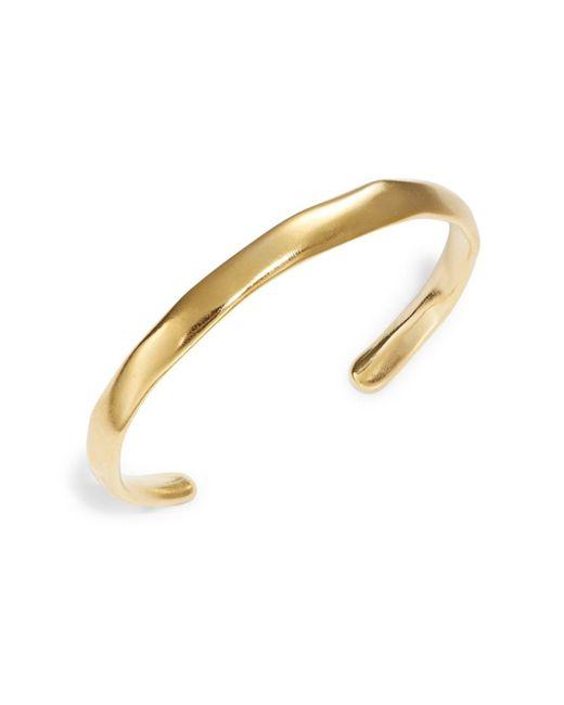 Uno De 50   Metallic Open Your Mind Hammered Metal Cuff Bracelet   Lyst