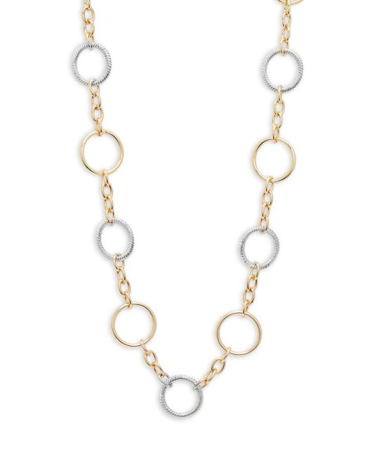 Saks Fifth Avenue | Metallic Two-tone Chain Necklace | Lyst