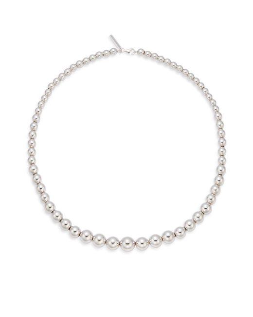 Saks Fifth Avenue | Metallic Sterling Silver Beaded Choker | Lyst