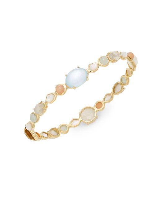 Ippolita | Metallic Modern Rock Candy Semi-precious Multi-stone & 18k Yellow Gold Bracelet | Lyst