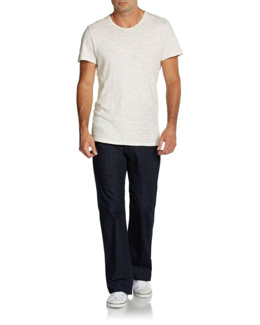 7 For All Mankind | Blue Modern Bootcut Jeans for Men | Lyst