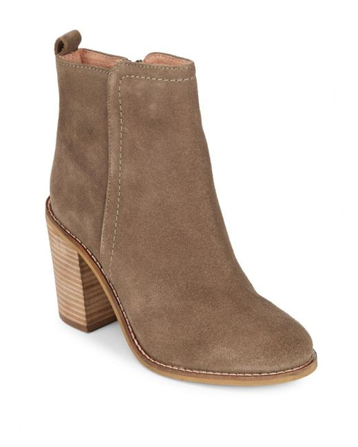 Seychelles - Brown Lounge Round-toe Leather Booties - Lyst