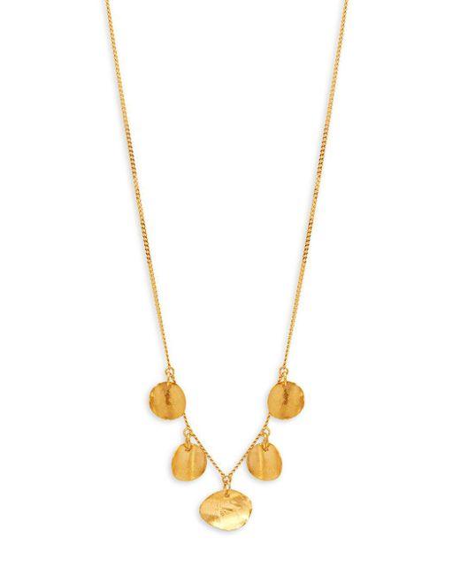 Chan Luu - Metallic Sterling Silver Pendant Necklace - Lyst