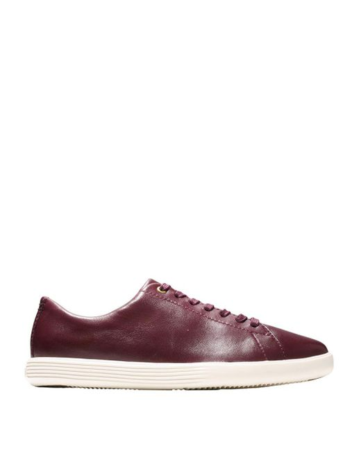 Cole Haan - Multicolor Grand Crosscourt Leather Sneakers - Lyst