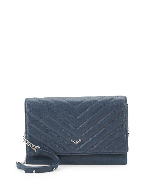Botkier - Blue Soho Quilted Leather Wallet - Lyst