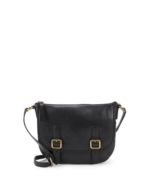 Frye - Black Lil Leather Crossbody Bag - Lyst