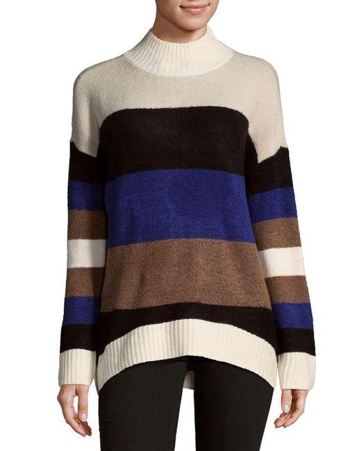 Saks Fifth Avenue   Multicolor Modish Knit Sweater   Lyst